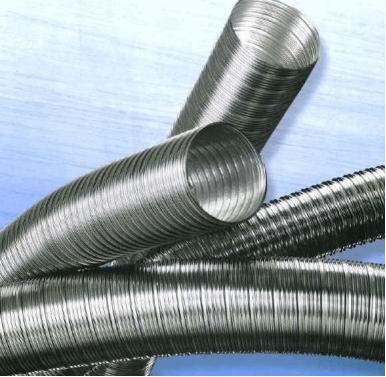 Schornsteinsanierung eka flex für Niedertemperatur, Gesamtlänge 14 Meter Ø150mm