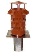 Windkat-System mit Einsteckstutzen, eckig Ø 180