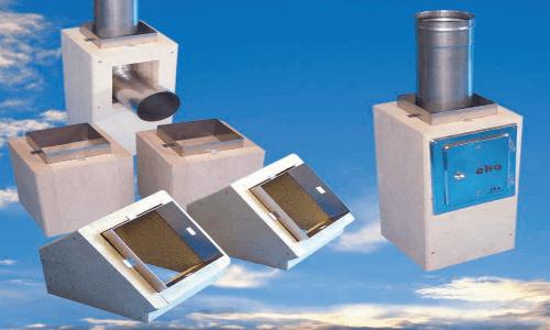 Leichtbauschachtsystem eka compact Gesamtlänge 10m Ø 150mm