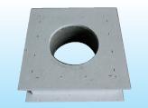 Deckendurchführung 0°, Wanddicke bis 120mm