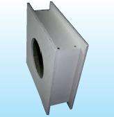 Brandschutzelement für Wand-/Deckendurchführung, BSE 2500-Ø-BSE