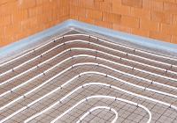 Fußbodenheizung Tackersystem