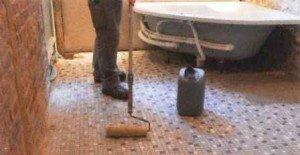 Fußbodenheizung im Dünnschichtsystem