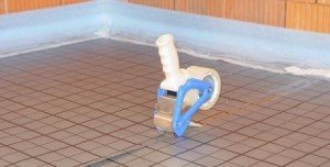 Fußbodenheizung im Tackersystem