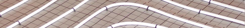 Fußbodenheizung im Tackersystem Banner