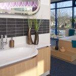 ovales Waschbecken für die ganze Familie