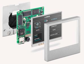 Lüftungsanlagen Zubehör - Display Touch-IT von Lunos