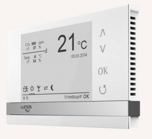 Lüftungsanlagen Zubehör - Touch Air Comfort-Steuerung von Lunos