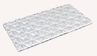Fußbodenheizung Trockenbausystem TBE25-14 - Verlegeplatte