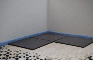 Fußbodenheizung Dünnschichtsystem