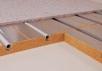 Fußbodenheizung Holzfasersystem Aufbauhöhe