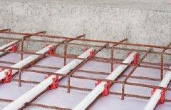 Fußbodenheizung Industrieflächenheizung - Rohr und Wandhalterset