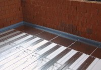 Fußbodenheizung Trockenbausystem Aufbauhöhe