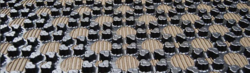 Fußbodenheizung Dünnschichtsystem Banner