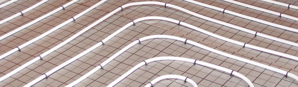 Fußbodenheizung Tackersystem Banner
