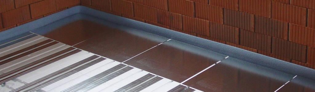 Fussbodenheizung Trockenbausystem Banner